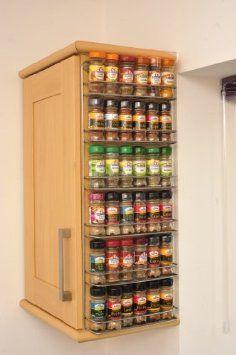 Top 25 Ideas About Spice Shelves Amp Racks On Pinterest