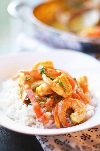 Shrimp Curry #Recipe #Food #Dinner