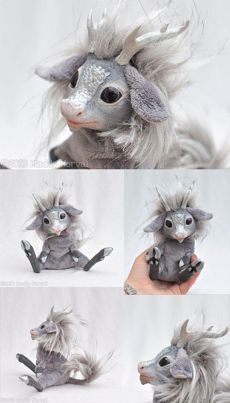 Leif the Silver Kirin by Magweno.deviantart.com on @deviantART