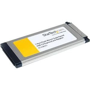 Startech.com, 1 Port ExpressCard Adapter (Catalog Category: Controller Cards / USB Controllers- PC Cards) by StarTech. $32.25. Startech.com, 1 Port ExpressCard Adapter (Catalog Category: Controller Cards / USB Controllers- PC Cards)