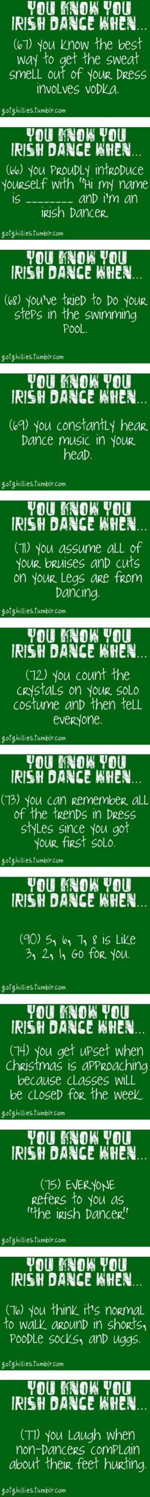 """You Know You Irish Dance When..."" by t-hen ❤ liked on Polyvore"