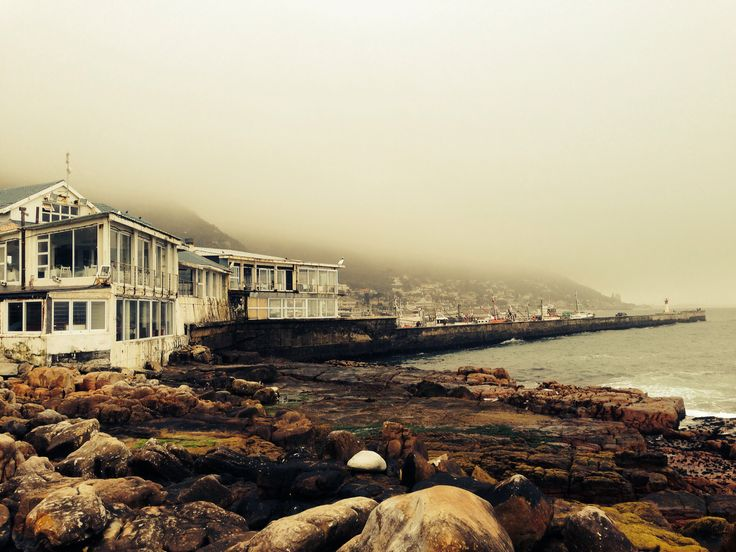 The harbor at Muizenberg in the Western-Cape , South Africa