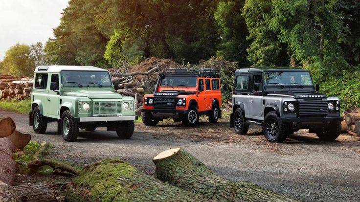 Land Rover Defender special edition 4x4 - Game Over.