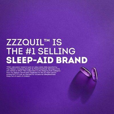 ZzzQuil Nighttime Sleep-Aid LiquiCaps - Diphenhydramine HCl - 24ct