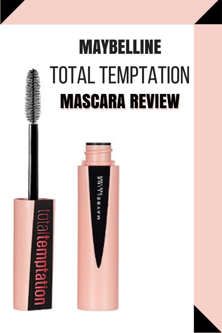 Maybelline Total Temptation Mascara Review | MacyxMakeup
