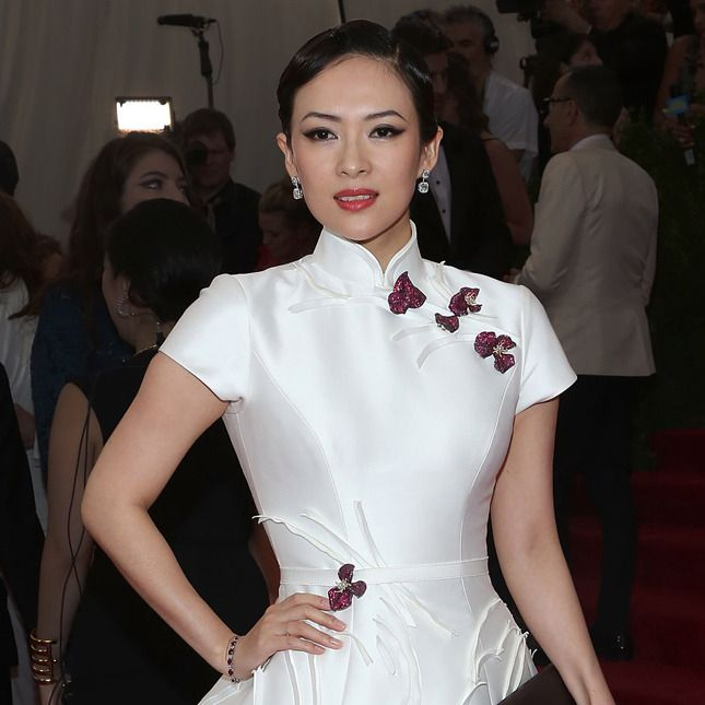 Чжан Цзыи на Met Gala 2015