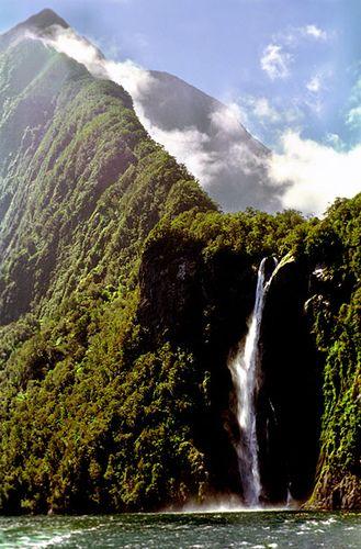 Una de las muchas maravillas naturales de Nueva Zelanda