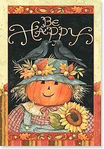 Be Happy: Happy Halloween by Susan Winget - card by Leanin' Tree
