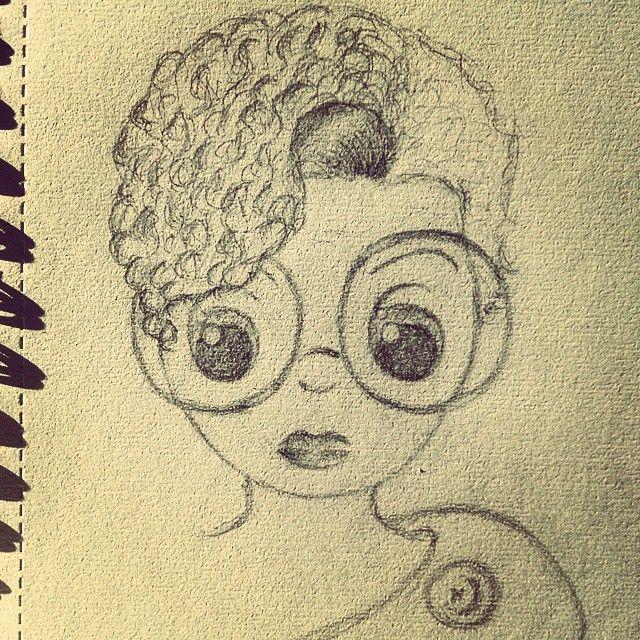 De camino a #Madrid sigo llenando mi cuaderno de #dibujos