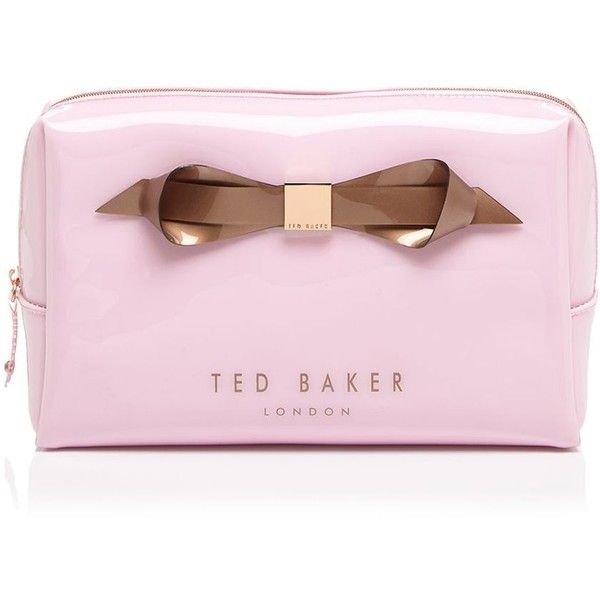Ted Baker Cosmetic Case ($38) ❤ liked on Polyvore featuring beauty products…