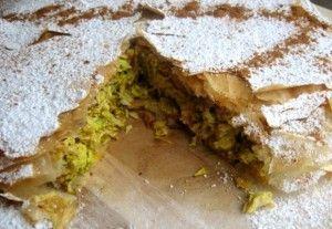 marokkaanse-kip-pastilla. Ik heb de kruiden in het recept vervangen door 1,5 eetlepel Ras El Hanout van Jonnie Boer. Het amandelmengsel heb ik hetzelfde gelaten. Zie ook http://www.leukerecepten.nl/recepten/779-pastilla-met-kip