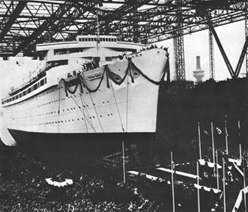 The Wilhelm Gustloff was named after a man considered by some during the time to be a German martyr. Wilhelm Gustloff had been the leader of the NSDAP in Switzerland and he was assassinated in 1936. His name was chosen for the largest liner of the KdF fleet and in 1937 when it was launched, his widow christened the bow on its maiden voyage. The Gustloff was launched as the flag ship for the entire KdF fleet, of which there were a great number of ships both large and small, many of which…