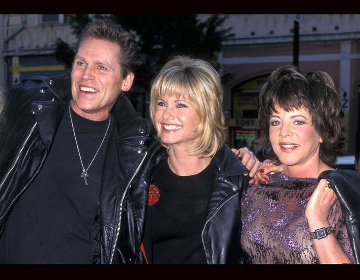 Jeff Conaway, Olivia and Stockard Channing http://olivianewton-john.net/