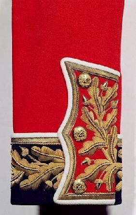 Artist Artist - Sleeve detail of a British Army Uniform (textile)