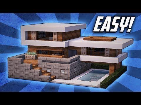 Best 25 Minecraft modern house blueprints ideas on Pinterest
