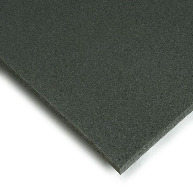 Polietileno expandido. El polietileno expandido es un material de color gris oscuro, liso y flexible se utiliza básicamente como aislante y para soluciones de embalaje pero también para construir maquetas, ficticios para cine y teatro y muchas manualidades.