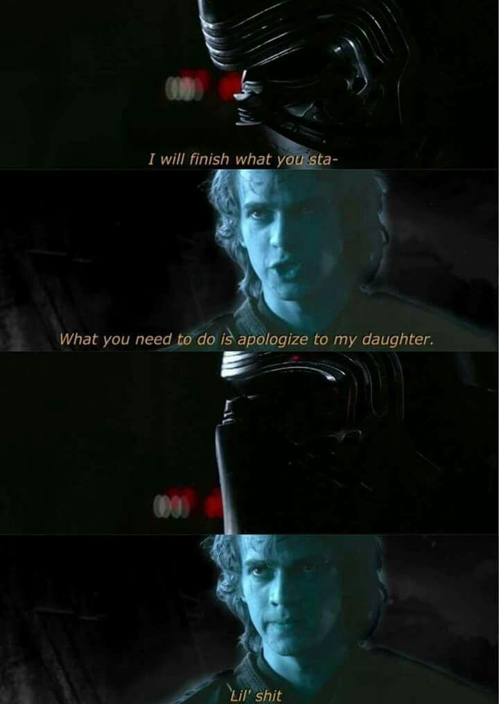 Ben But Grampaaaaa Ben But Grampaaaaa Ben Grampaaaaa Ben Grampaaaaa Star Wars Humor Funny Star Wars Memes Star Wars Jokes