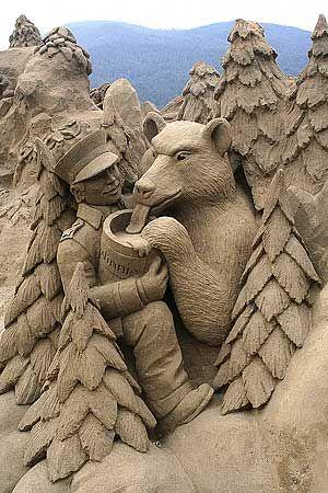 Destin Richter - Computer Consultant - Tribal Software - Sand Sculptures: Sand Art, Sandsculptures, De Arena, Sand Castles, Sand Sculptures, Walleye