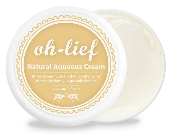 oh-lief Natural Aqueous Cream - 250ml