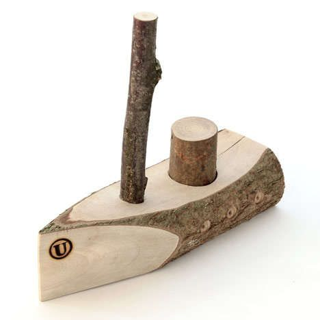 Adorable Timber Toys - These Hand-Crafted Wooden Toys by Usuals are Made From a Hazel Tree (GALLERY)
