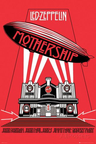Led Zeppelin -Mothership poster