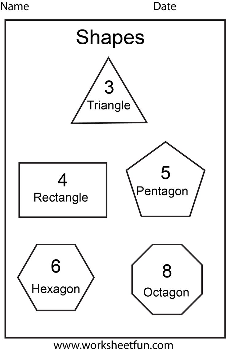 Worksheets Hexagon Worksheets 112 best shapes images on pinterest preschool shape octagon worksheets for preschoolers worksheetfun free printable worksheets