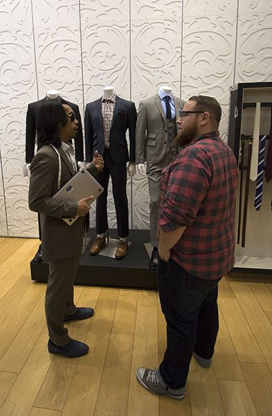We visited the Indochino Traveling Tailor in San Francisco to learn how to create the perfect big and tall suit. See what we learned (and find out where the Traveling Tailor is going next): http://chubstr.com/2014/resources/indochino-perfect-big-and-tall-suit/