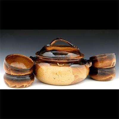 Mariella Owens Pottery: Casserole Set | Casseroles