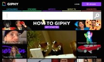 Bored? 25 Cool Websites to Entertain You: Giphy