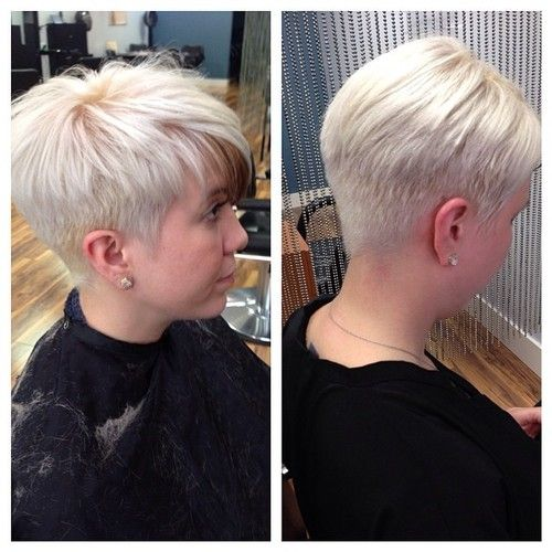 Short Tapered A Pixie Short Faded And Tapered