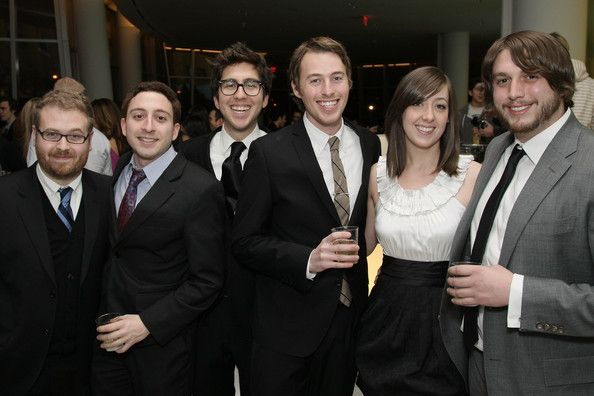"(L-R) Cast members Sam Reich, Dan Gurewitch, Amir Blumenfeld, Dan Gurewitch, Jake Hurwitz, Sarah Schneider and Streeter Seidell attend MTV's ""The CollegeHumor Show"" premiere party at the IAC Building on February 5, 2009 in New York City.  (Photo by Neilson Barnard/Getty Images) *** Local Caption *** Sam Reich;Dan Gurewitch;Amir Blumenfeld;Jake Hurwitz;Sarah Schneider;Streeter Seidell"