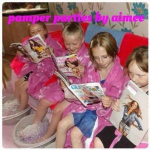 Girls Spa & Pamper Parties - Pamper & Makeover - Spa & Pamper Parties in your own home or venue .