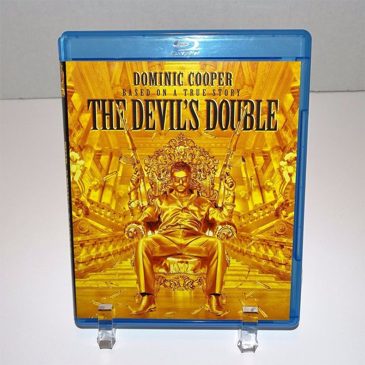The Devil's Double Blu Ray Based on True Story Dominic Cooper True Crime