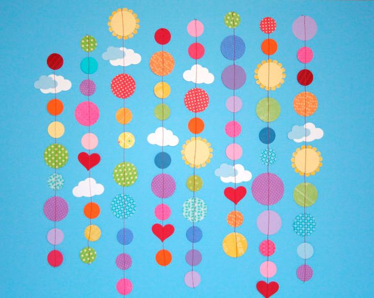 Crafting with Kids: Paper Garlands