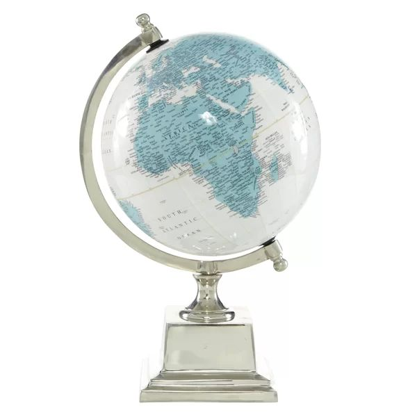Cole Grey Globe In 2020 Globe Decor Globe Metal Mirror