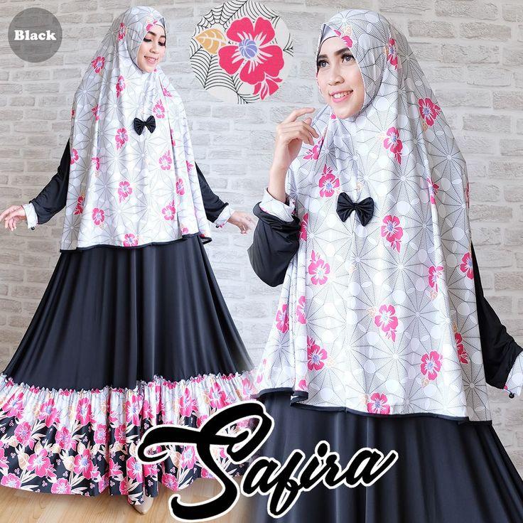 Baju Gamis Syar'i Murah Safira Jersey Online - https://www.bajugamisku.com/baju-gamis-syari-murah-safira-jersey