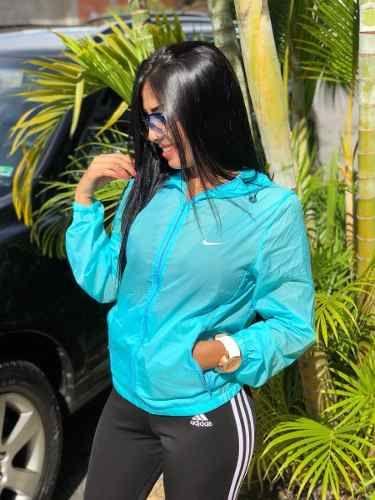 22cdf72f0 Melinterest Brasil. Blusa Nike Feminina De Frio Corta Vento Moda ...