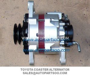 27040-58020 - Toyota Coaster Denso Alternator 24V 85A Alternadores Product Name  Toyota Coaster Denso Alternator 24V 85A Manufacturer    DENSO  Manufacturer Part Number    27040-58020 Car manufacturer    TOYOTA Genuine part    27040-58020 2704058020 Output    24V/85A  Introduction time  1989