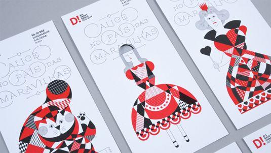 Magical Alice in Wonderland-inspired branding