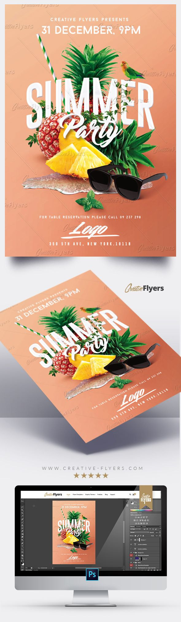 Poster and flyer templates