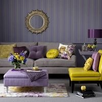 Traditionally associated with spirituality, wisdom,luxury and wealth,…purple and yellow