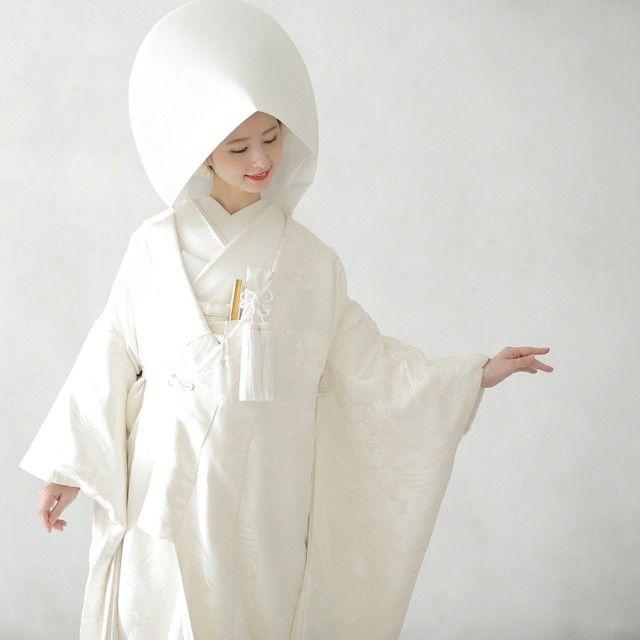 息を呑むほどお美しい♡「白無垢 × 綿帽子」を身にまとった花嫁さんのシングルショット*16選 | ZQN♡