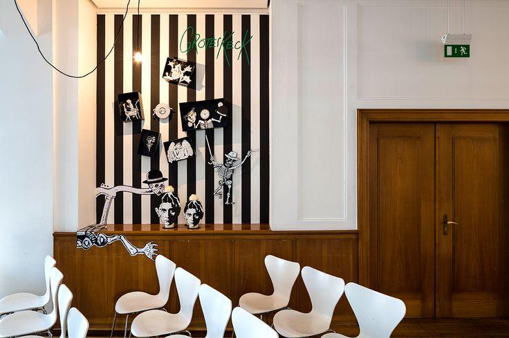 European Design - K: KafKa in KomiKs, Agency URL: http://www.gww-design.de, Category: 33. Exhibition Design, Award: Gold, Year: 2014