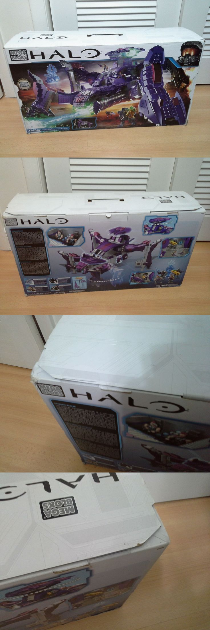Other Building Toys 19015: ** Halo Mega Bloks Covenant Scarab Set 97694 New Sealed Box Construx -> BUY IT NOW ONLY: $380 on eBay!