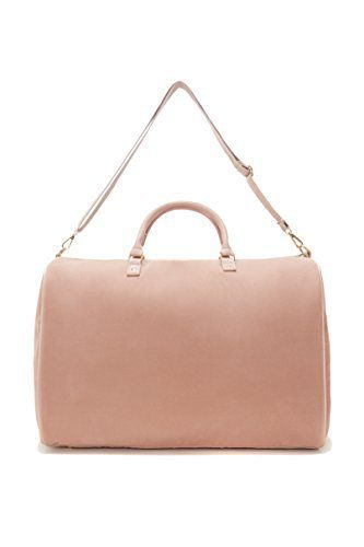New Trending Luggage: Lulu Dharma Velvet Solid Color Weekend Bag, Light Pink. Lulu Dharma Velvet Solid Color Weekend Bag, Light Pink  Special Offer: $90.00  366 Reviews The perfect Weekender Bags with the added luxury of Velvet! Unique yet classic, Eco-Friendly with matching vegan leather handles and trim. Zipper opening and removable strap with gold toned...