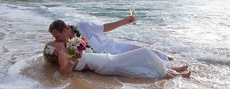 Kauai Weddings in Hawaii -Wedding Packages, Vow Renewals,  Photography