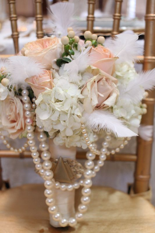 Vintage Wedding Inspiration:  Styled Shoot: The Roaring20's - Journal - Everything you need to coordinate your wedding!!
