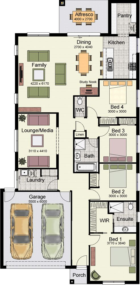 12 best House Plans images on Pinterest Home design Floor plans