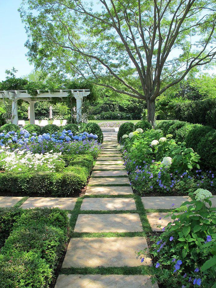 stone path ideas images  pinterest garden