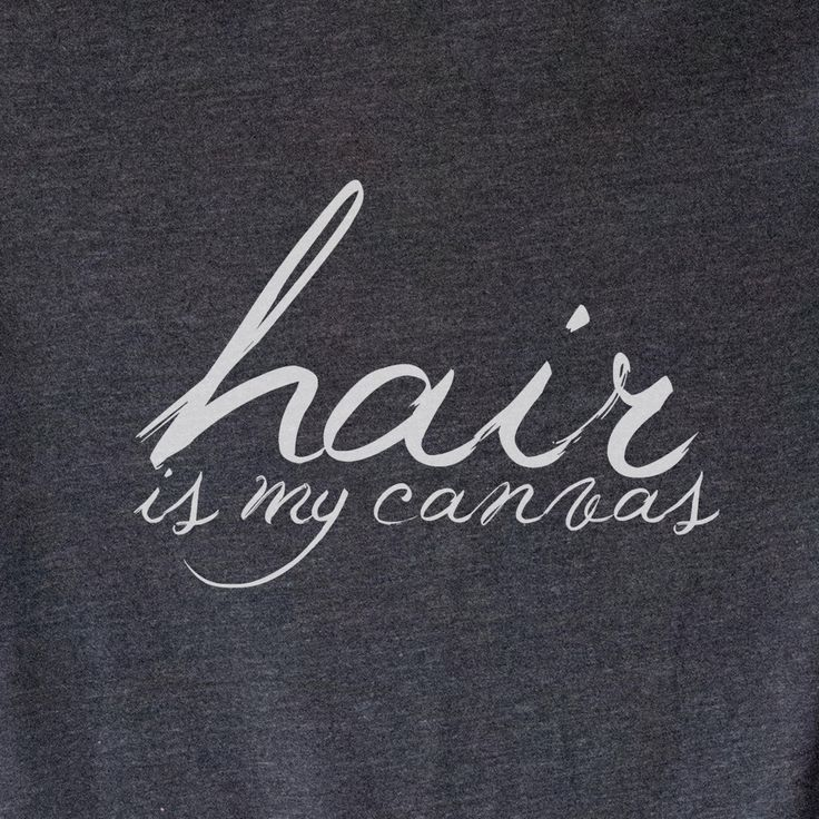 WOMEN'S Tee | Hair is My Canvas | Hair Stylist Shirt | Worlds Best Hair Stylist | Beautician Not a Magician | I Will Cut You | Hair by opalandharv on Etsy https://www.etsy.com/listing/207203992/womens-tee-hair-is-my-canvas-hair